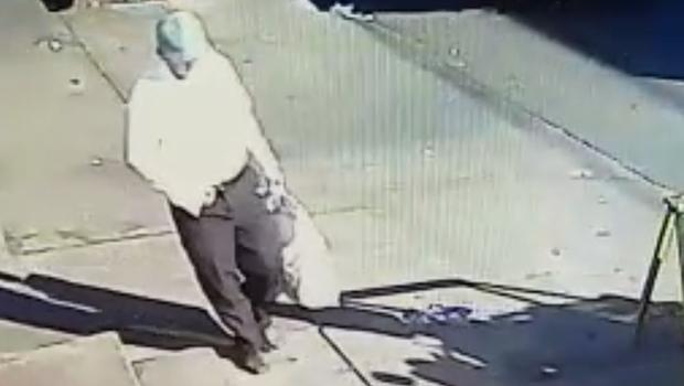 Vídeo mostra suspeito de atentado a bomba contra advogado