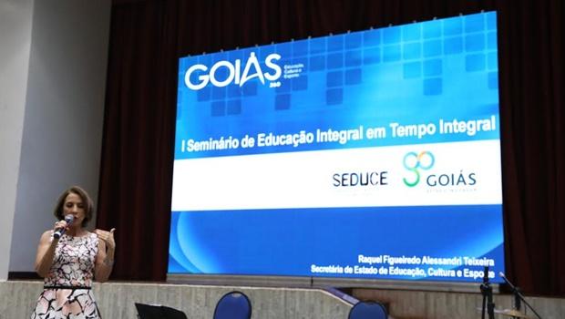 Seminário discute educação integral na rede estadual de ensino