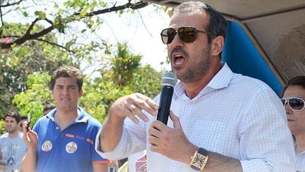 Renato de Castro em campanha | Foto: divulgação