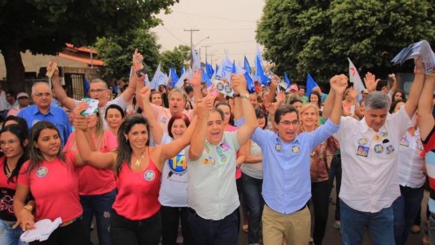 Rogério Troncoso pode ser reeleito em Morrinhos com 90% dos votos