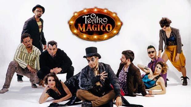 O Teatro Mágico faz show em Goiânia no próximo sábado (24)
