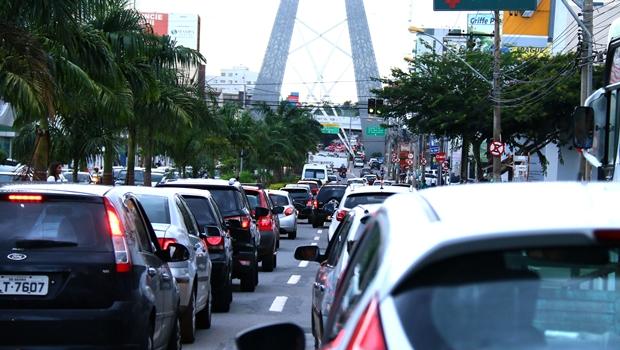 Incentivo ao transporte individual pode levar capital goiana ao colapso | Foto: Fernando Leite/ Jornal Opção