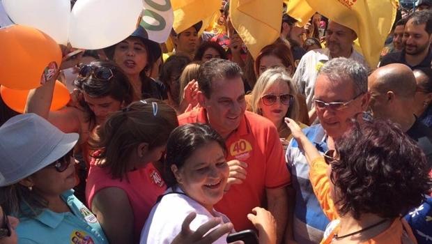 Candidato do PSB durante campanha | Foto: reprodução