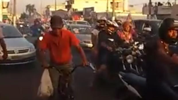 Vídeo mostra momento em que atirador abre fogo em Itumbiara