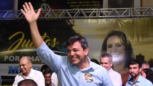 Vinícius Luz durante evento da campanha | Foto: reprodução