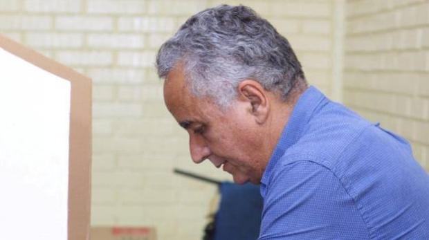 Ex-prefeito Divino Lemes tem quase o dobro dos votos do segundo colocado, mas votação fica nula até julgamento final   Foto: Divulgação/Facebook