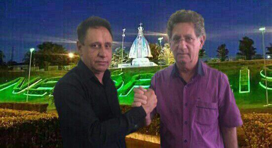 Gil Tavares e o Dr. Luiz Alberto: prefeito e vice-prefeito eleitos de Nerópolis