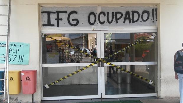MPF pede à Justiça desocupação imediata de prédios do IFG