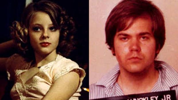 """Para tentar conquistar a atriz Jodie Foster, que o atraiu ao fazer o filme """"Taxi Driver"""", John Hinckley tentou matar o presidente Ronald Reagan"""
