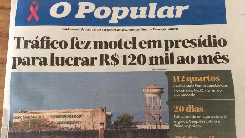Repórter critica colonialismo e diz que O Popular só publica artigos de medalhões de São Paulo