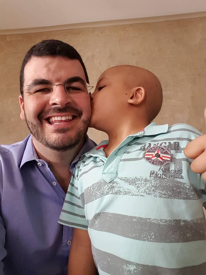 Morre filho de vice-prefeito de Catalão e líder da Força Sindical. Garoto de 7 anos tinha leucemia