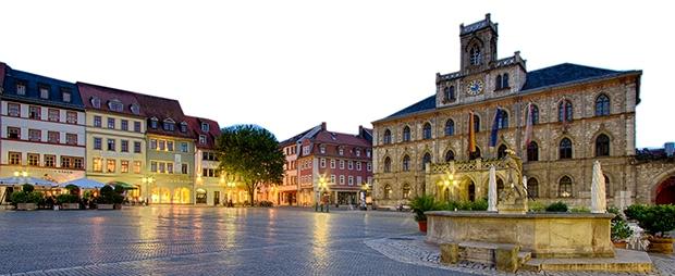 A mais alta distinção cultural da Alemanha é da cidade de Weimar; a Medalha leva seu nome