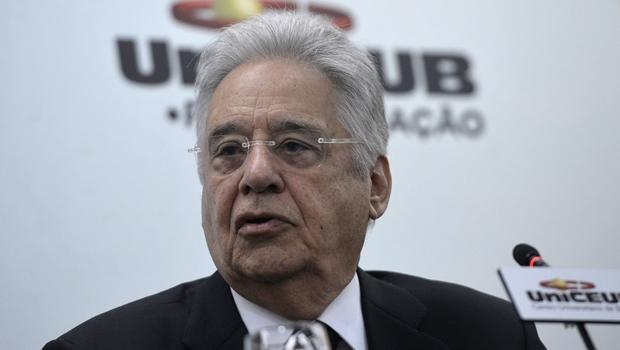 """""""Democracia requer bom senso e razoabilidade"""", afirma Fernando Henrique"""