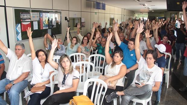 Greve foi aprovada em assembleia desta segunda-feira (17) | Foto: Reprodução / Sint-ifesgo