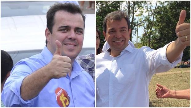 Gustavo Mendanha e Vinicius Luz