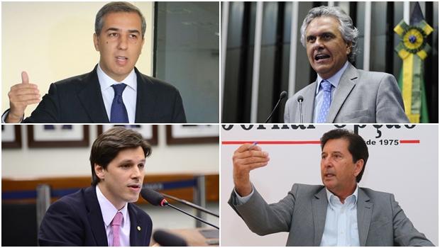 Disputa de 2018 poderá ter Daniel Vilela e José Eliton como forças renovadoras