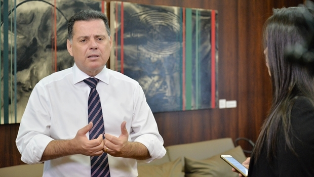 Marconi Perillo durante quadro Governador Responde | Foto: Wagnas Cabral