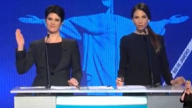 Mariana Godoy rouba cena em debate após ironizar comentário machista de candidato