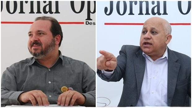 Na campanha em Goiânia, os candidatos Djalma Araújo e Flávio Sofiati mal conseguiram dizer uma ou duas frases