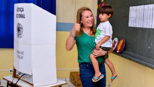 Teresa Surita foi reeleita em Boa Vista com quase 80% dos votos   Reprodução / Facebook