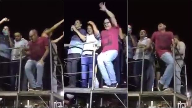 """Vídeo viral de """"prefeito"""" comemorando vitória com dança sensual já foi sucesso em 2015"""