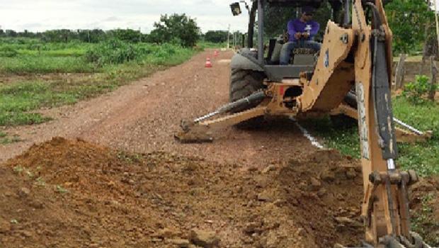ATS inicia projeto de esgotamento sanitário em Palmeirante