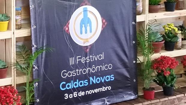 Festival Gastronômico de Caldas Novas tem início nesta quinta (3/11) com extensa programação