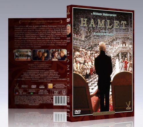 "Versátil lança filme ""Hamlet"", de Kenneth Branagh. Palavras pra defini-lo: imperdível e incontornável"