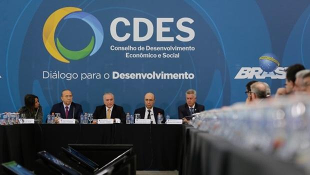 Esta foi a primeira reunião do grupo no Governo Temer | Foto: Marcos Corrêa/PR