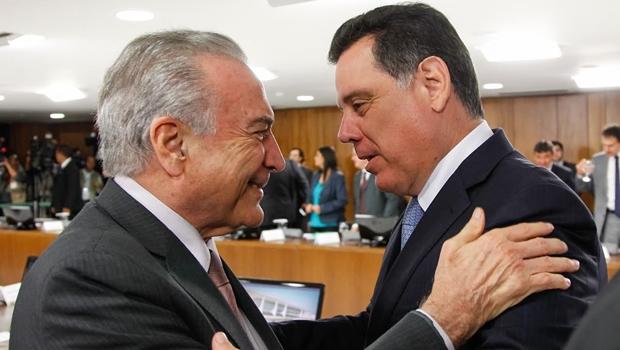 Em jantar com Michel Temer, no apartamento de Aécio Neves, Marconi defende reformas