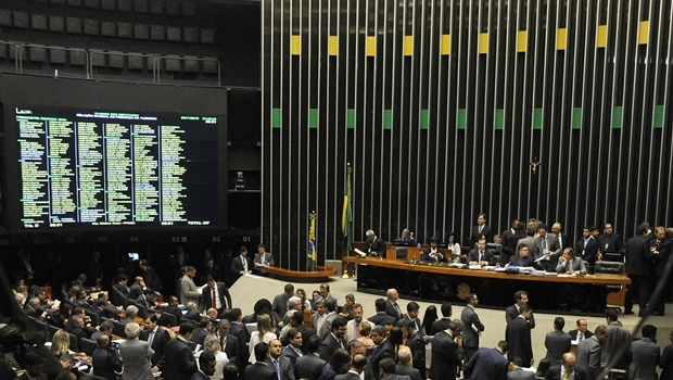 Sessão de votação do projeto e alterações foi encerrada apenas às 4h18 da manhã | Foto: Luis Macedo / Câmara dos Deputados