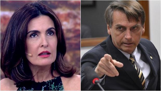 Após enquete polêmica, Bolsonaro ataca Fátima Bernardes durante velório de policiais