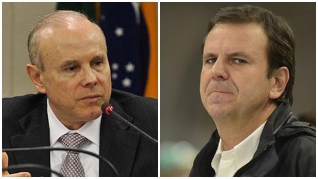 Ex-ministro Guido Mantega e prefeito do Rio de Janeiro Eduardo Paes (PMDB) podem ser incluídos em lista de testemunhas de Eduardo Cunha | Foto: Agência Brasil
