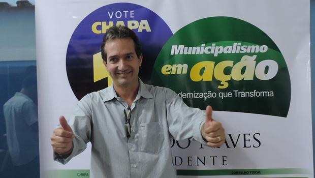 Haroldo Naves (PMDB), de Campos Verdes, vence eleição na FGM