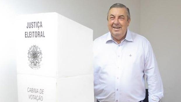 José Mário Schreiner foi eleito para mais um triênio à frente da Faeg | Foto: Fredox Carvalho/ Faeg
