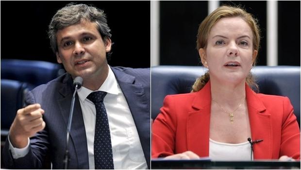 Senadores da oposição entrarão com pedido de impeachment. Gleisi Hoffman (PT) pede a renúncia do presidente para viabilizar eleições diretas | Foto: Reprodução Agência