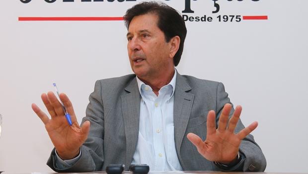 Maguito Vilela vai permanecer no PMDB e deve disputar o governo pelo partido