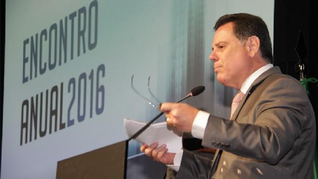 Marconi Perillo durante abertura do Conselho Empresarial da América Latina, em Buenos Aires