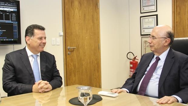 Marconi se reuniu com ministro da Fazenda nesta quarta-feira (9)   Foto: Humberto Silva