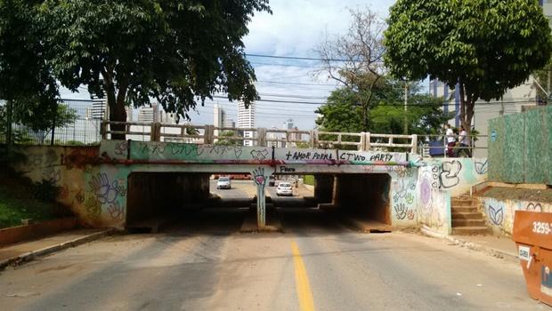 Crea recomenda proibição imediata de tráfego de caminhões em viaduto do Jardim Goiás