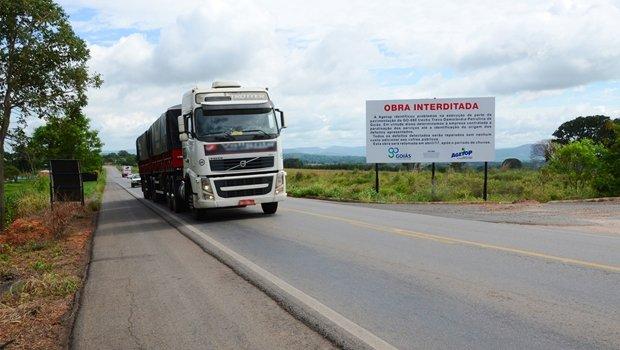 Empresa detentora da concessão já foi notificada e mobilou especialistas para identificar e solucionar o problema | Foto: Divulgação / Agetop