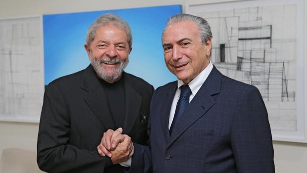 Pesquisa Datafolha aponta Temer e Lula como campeões de rejeição