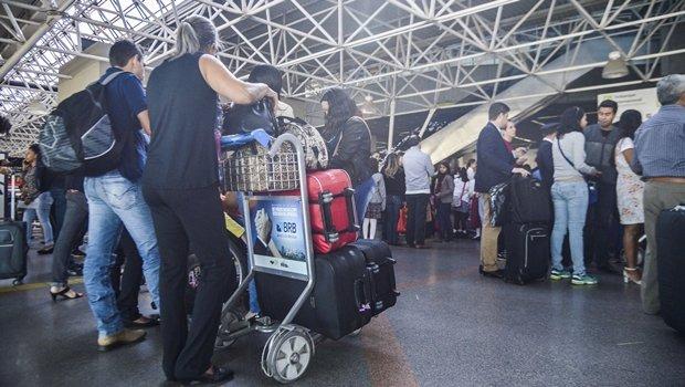 Nopvas regras da Anac acabam com franquia para despacho gratuito de bagagem | Foto: José Cruz/ Agência Brasil