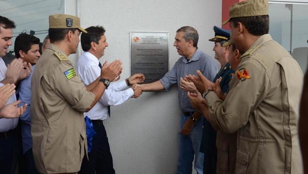 José Eliton inaugura nova unidade dos Bombeiros em Aparecida de Goiânia