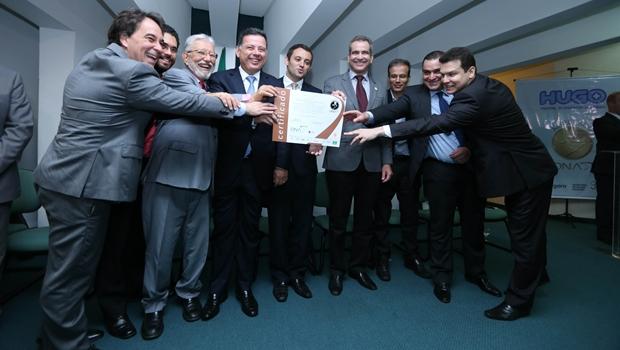 Hospital é o quinto em Goiás a receber o certificado da ONA | Foto: Henrique Luiz