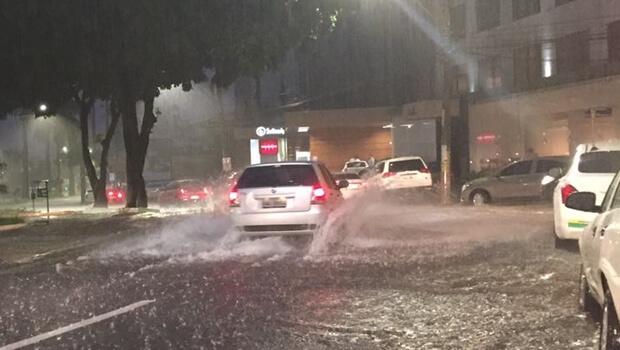 Quinta-feira em Goiás será de pancadas de chuva e trovoadas
