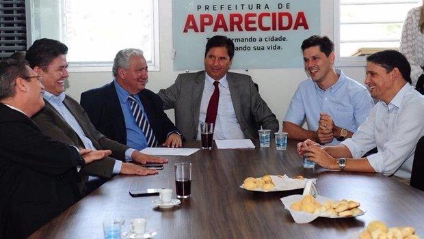 Encontro do PSD com o prefeito Maguito Vilela