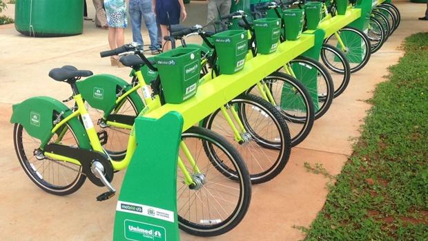 Prefeitura de Goiânia inaugura serviço de bicicletas compartilhadas