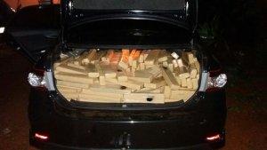 Droga foi encontrada em Anápolis   Foto: Polícia Civil