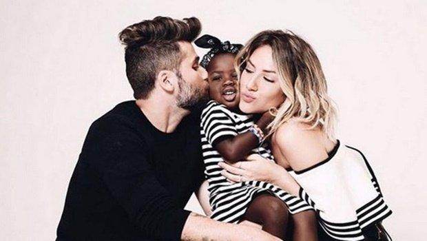 Criança foi alvo de racismo depois que a mãe postou foto da família em rede social | Foto: Reprodução Instagram